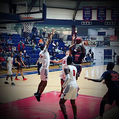 Union County College Rallies Late to Edge Brookdale, 55-53