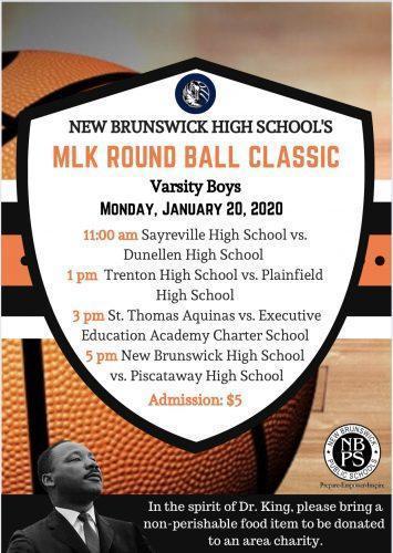 MLK Roundball Classic Set for January 20th at New Brunswick HS