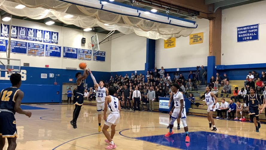Colonia Outlasts Carteret in Defensive Battle, 47-39